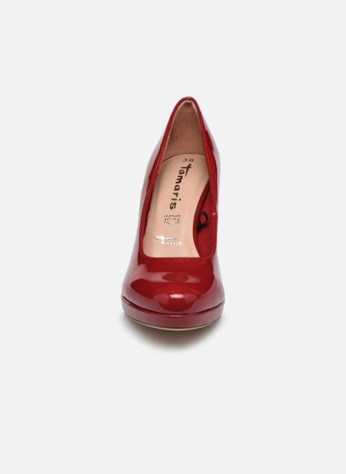 Escarpins Tamaris Tesnime Rouge vue portées chaussures