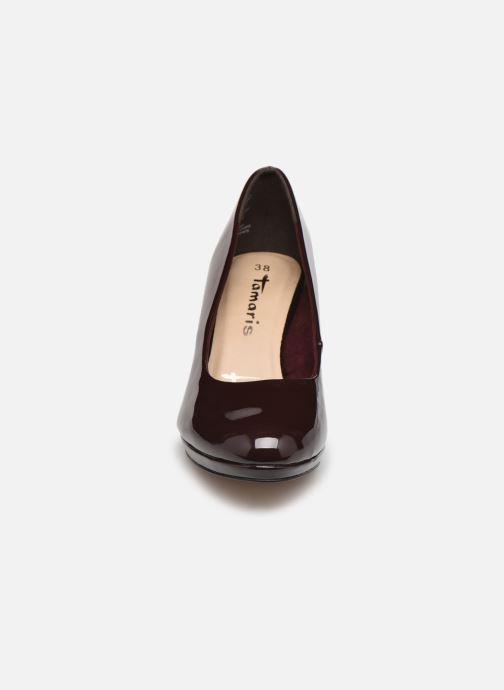Zapatos de tacón Tamaris Néla Vino vista del modelo