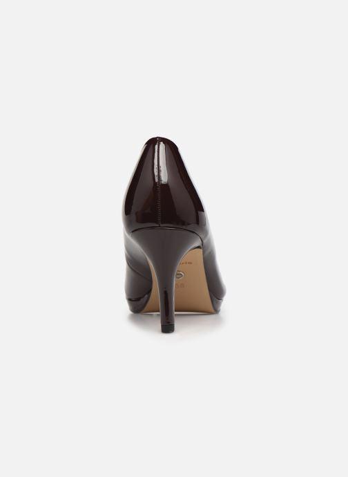 Zapatos de tacón Tamaris Néla Vino vista lateral derecha