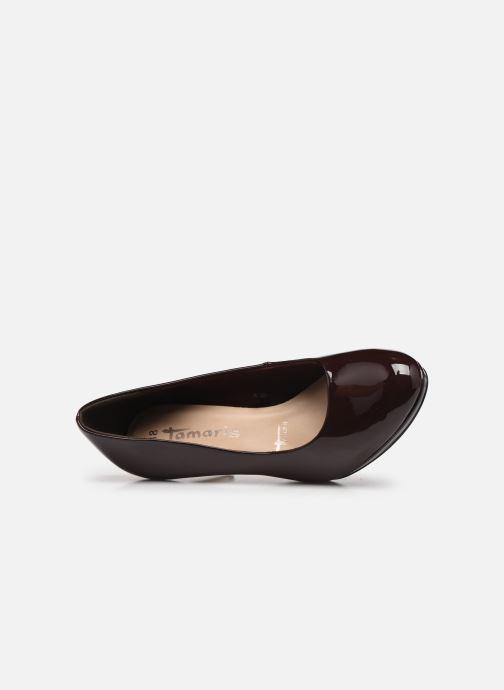 Zapatos de tacón Tamaris Néla Vino vista lateral izquierda