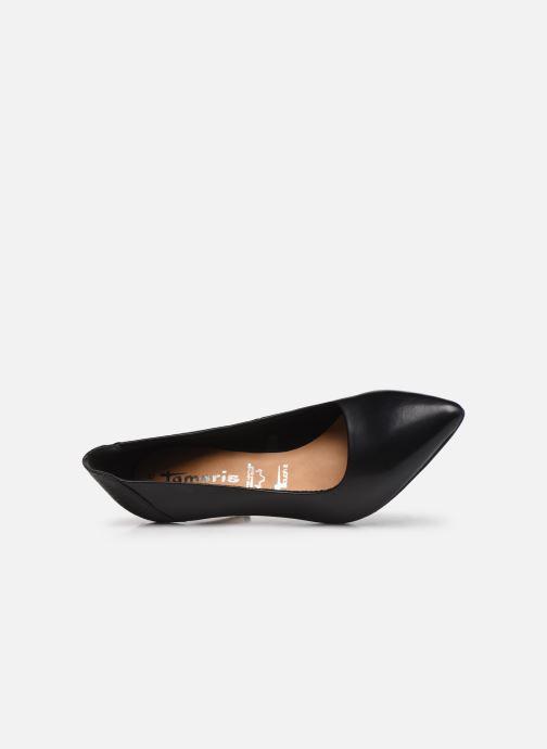 Zapatos de tacón Tamaris Linov Negro vista lateral izquierda