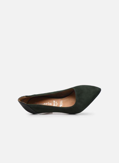 Zapatos de tacón Tamaris Linov Verde vista lateral izquierda