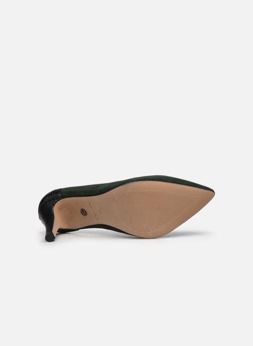 Zapatos de tacón Tamaris Linov Verde vista de arriba