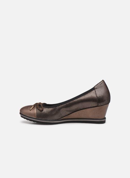 Zapatos de tacón Tamaris Lilym Oro y bronce vista de frente