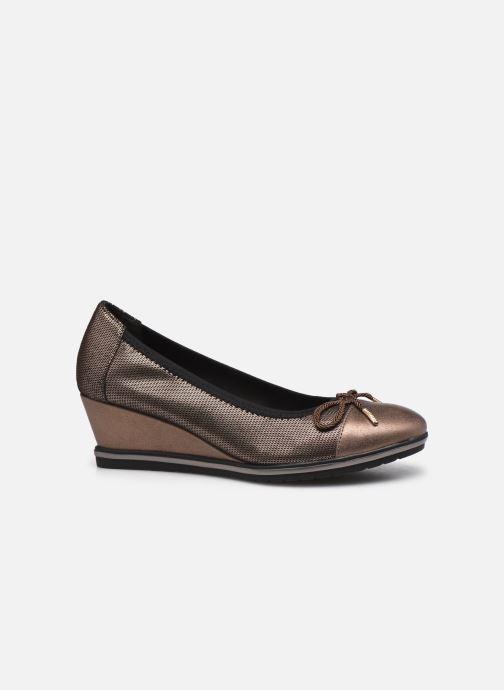 Zapatos de tacón Tamaris Lilym Oro y bronce vistra trasera