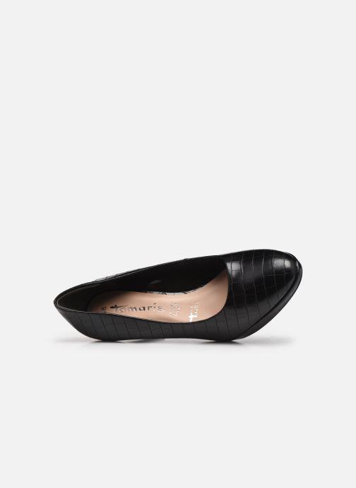 Zapatos de tacón Tamaris Hiba Negro vista lateral izquierda