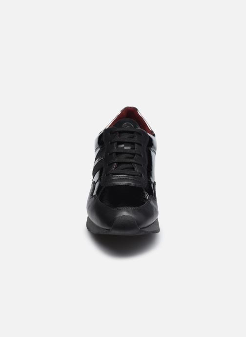 Baskets Tamaris Gaelle Noir vue portées chaussures