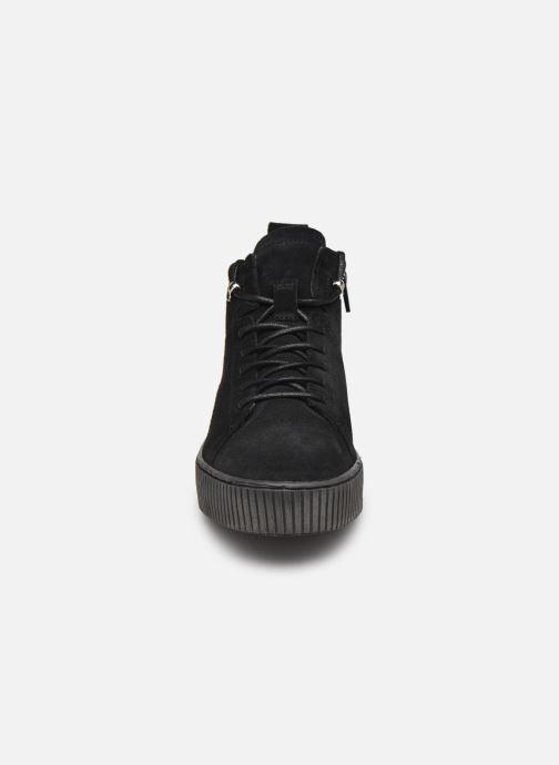 Sneaker Tamaris Sadio schwarz schuhe getragen