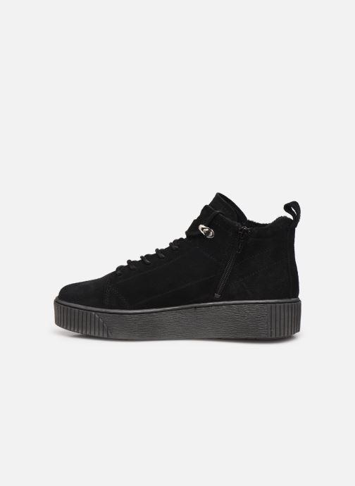 Sneaker Tamaris Sadio schwarz ansicht von vorne