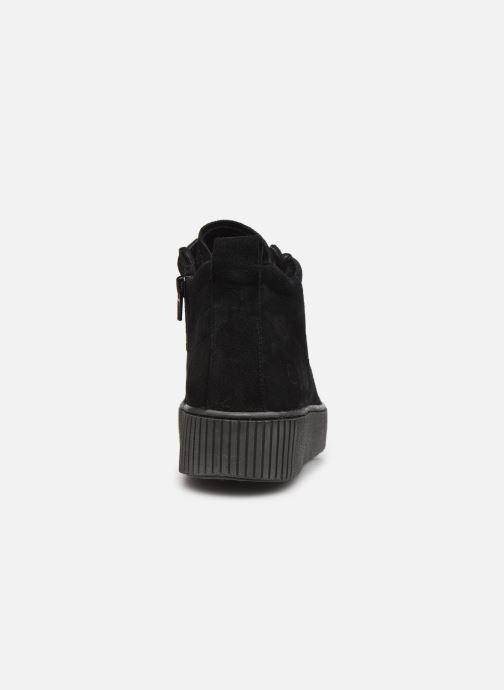 Sneaker Tamaris Sadio schwarz ansicht von rechts