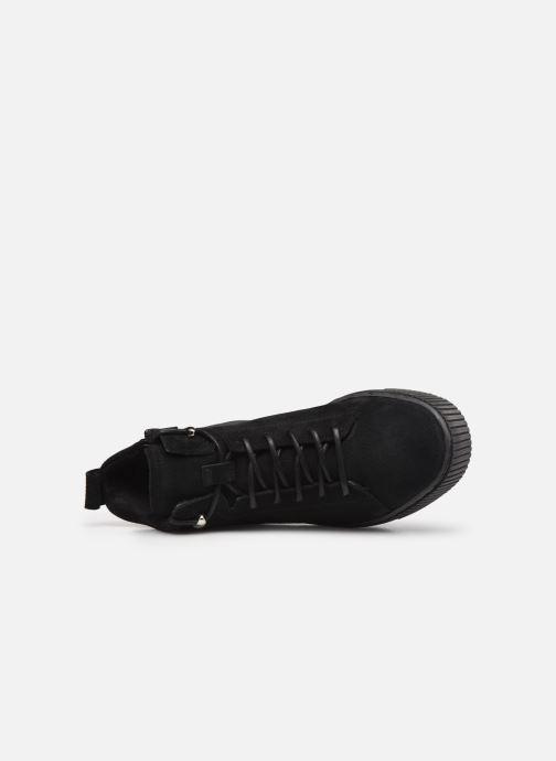 Sneaker Tamaris Sadio schwarz ansicht von links