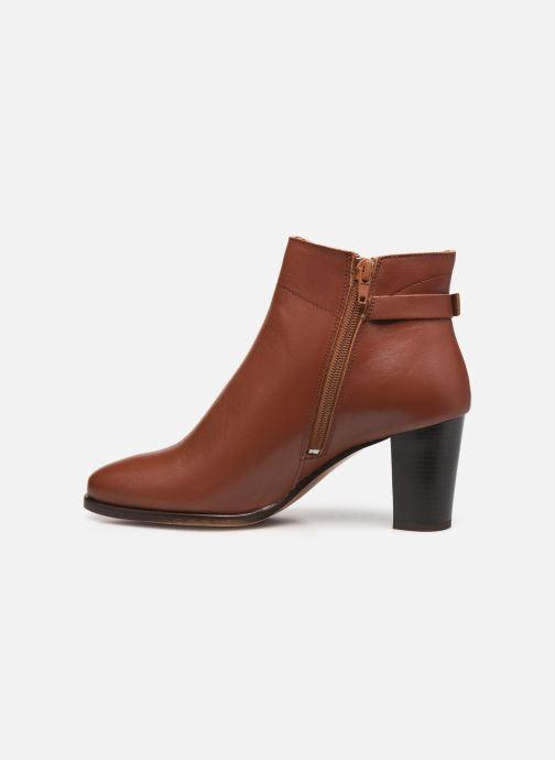 Bottines et boots Georgia Rose Cecilia Marron vue face