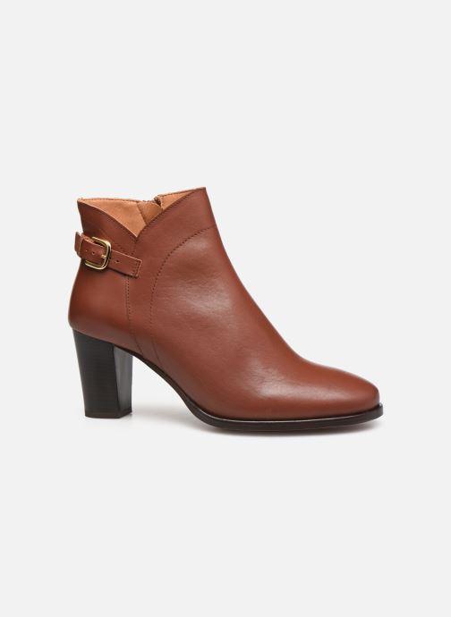 Bottines et boots Georgia Rose Cecilia Marron vue derrière