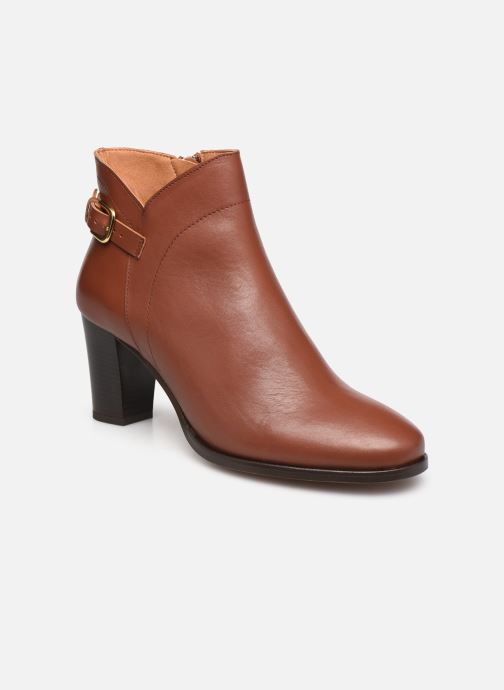 Bottines et boots Georgia Rose Cecilia Marron vue détail/paire