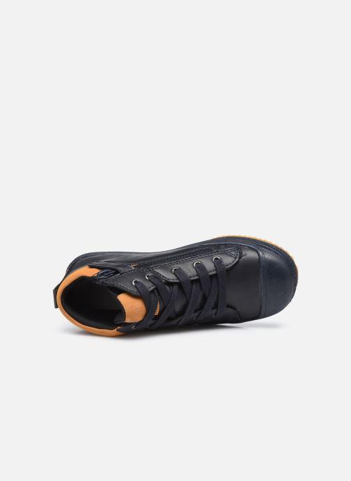 Sneaker Mod8 Talou blau ansicht von links