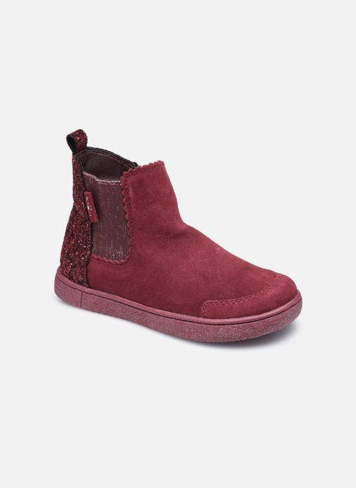Bottines et boots Mod8 Blanou Bordeaux vue détail/paire