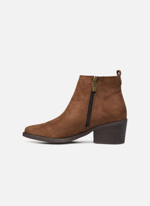 Bottines et boots MTNG 58616 Marron vue face