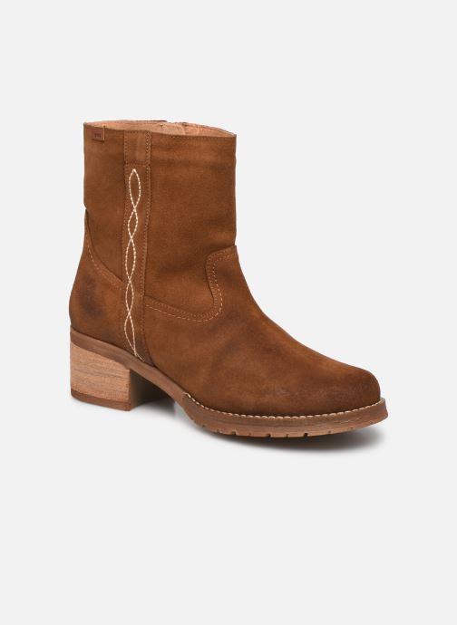 Boots en enkellaarsjes MTNG 50335 Bruin detail