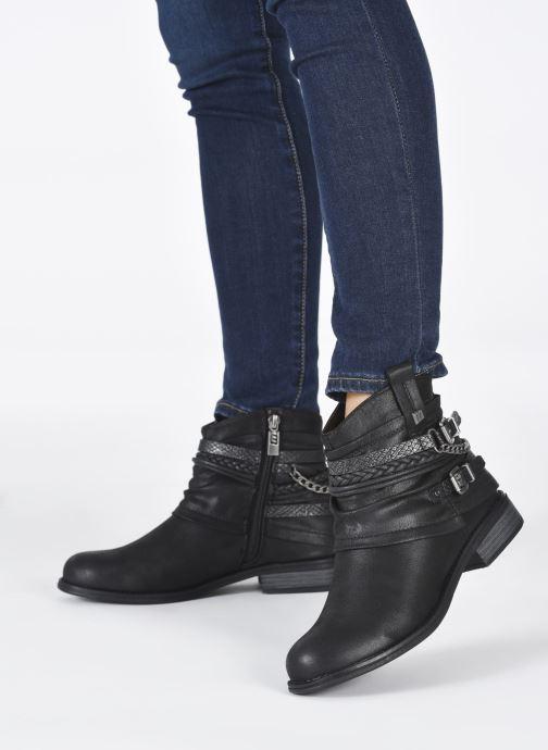 Stiefeletten & Boots MTNG 50265 schwarz ansicht von unten / tasche getragen