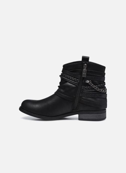 Stiefeletten & Boots MTNG 50265 schwarz ansicht von vorne
