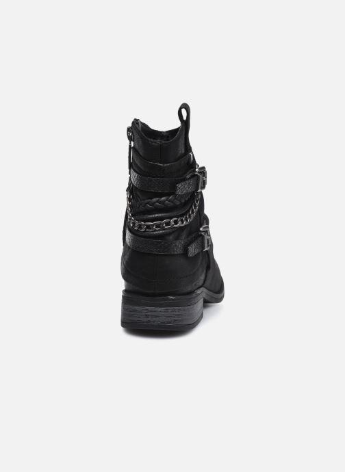 Stiefeletten & Boots MTNG 50265 schwarz ansicht von rechts
