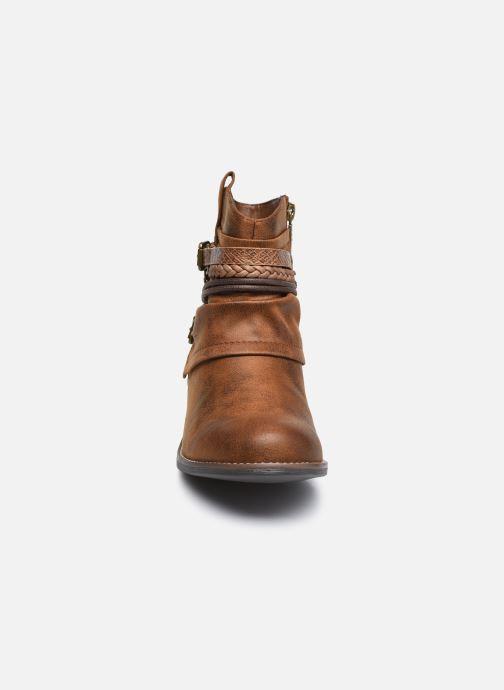 Bottines et boots MTNG 50265 Marron vue portées chaussures