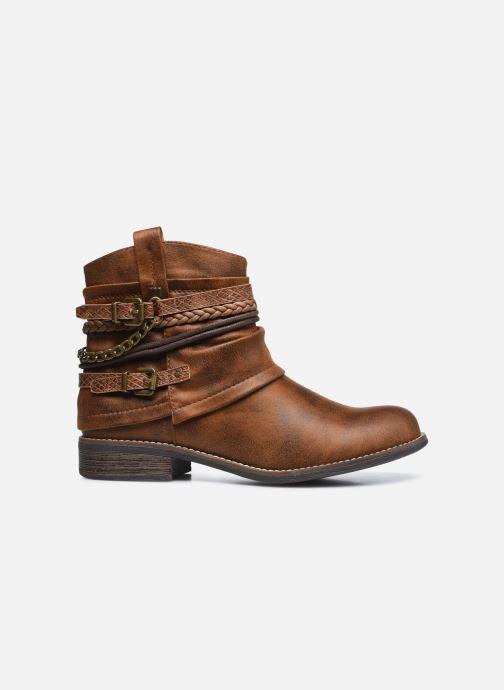 Bottines et boots MTNG 50265 Marron vue derrière