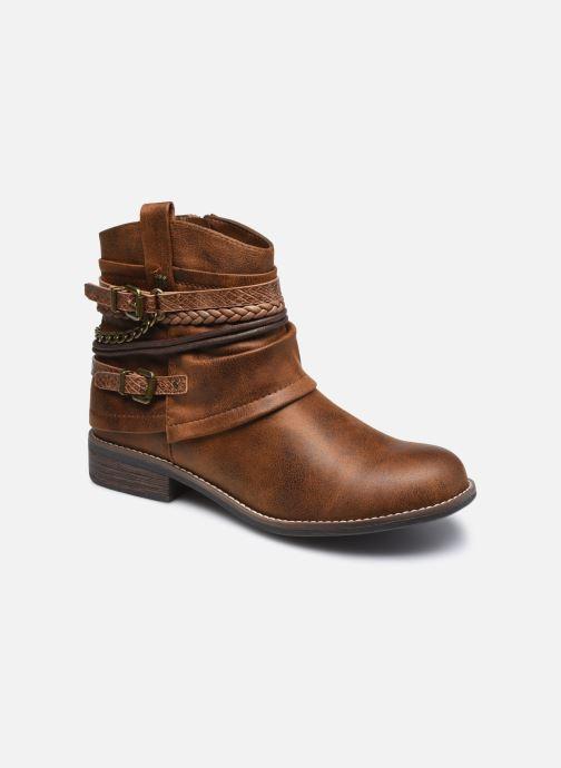 Bottines et boots MTNG 50265 Marron vue détail/paire
