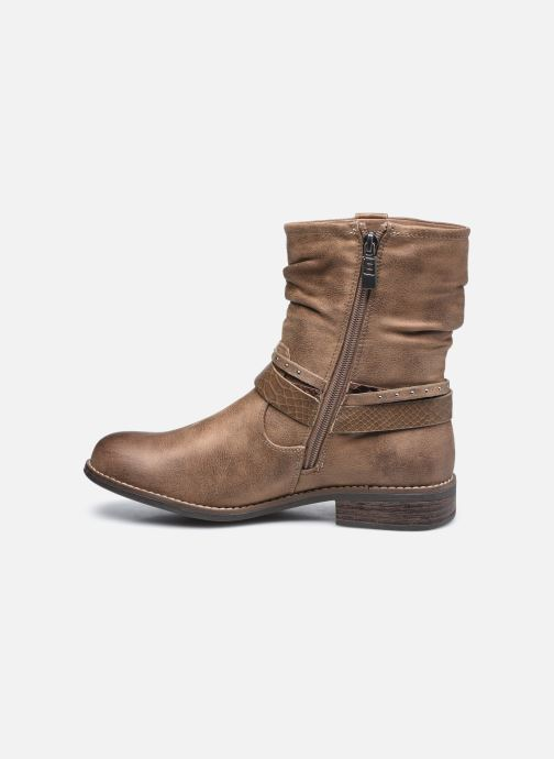 Bottines et boots MTNG 58706 Marron vue face