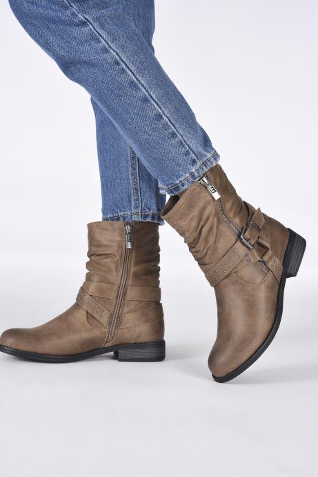Bottines et boots MTNG 50202 Marron vue bas / vue portée sac