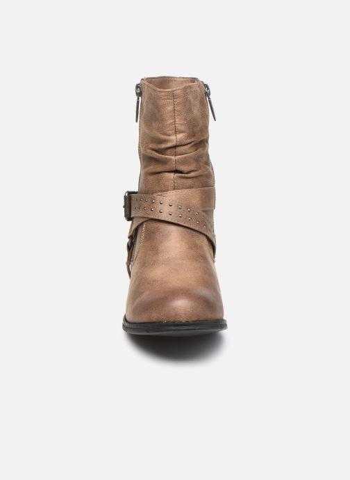 Bottines et boots MTNG 50202 Marron vue portées chaussures