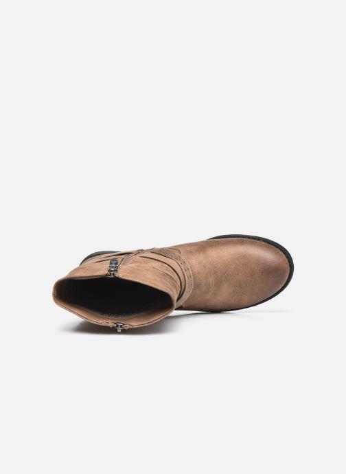 Bottines et boots MTNG 50202 Marron vue gauche