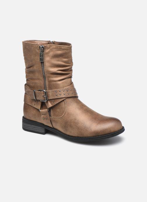 Bottines et boots MTNG 50202 Marron vue détail/paire