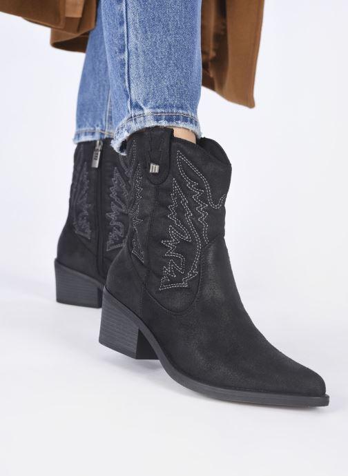 Stiefeletten & Boots MTNG 58685 schwarz ansicht von unten / tasche getragen