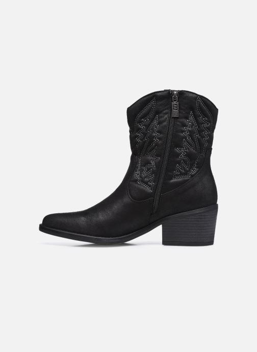 Stiefeletten & Boots MTNG 58685 schwarz ansicht von vorne