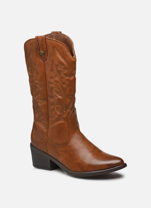 Bottines et boots MTNG 58694 Marron vue détail/paire