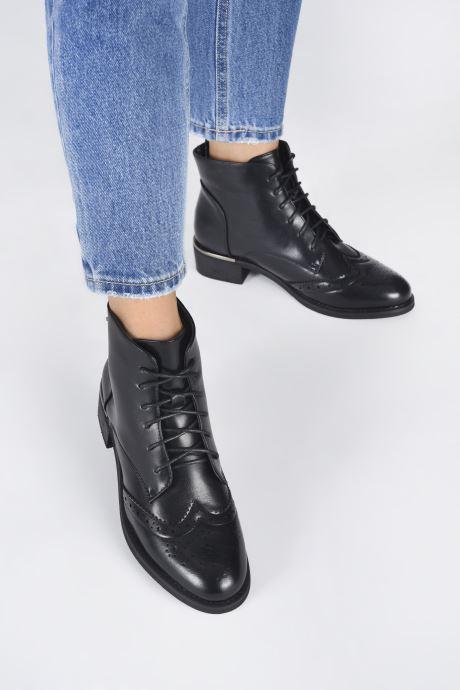 Bottines et boots LPB -LES PETITES BOMBES AIKO Noir vue bas / vue portée sac