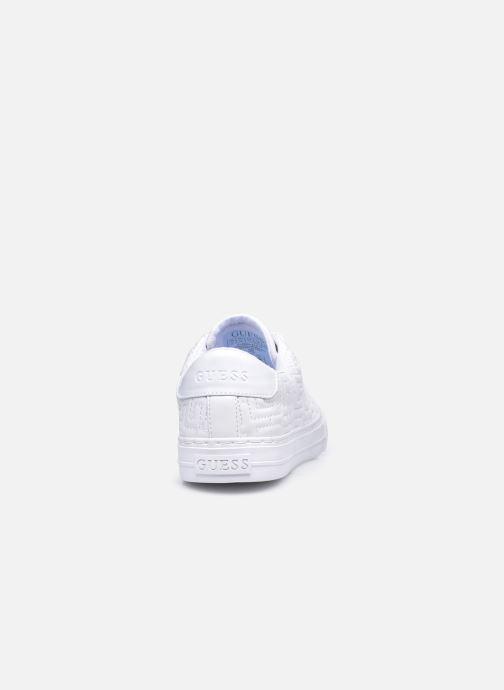 Baskets Guess FL8GOL ELE12 Blanc vue droite