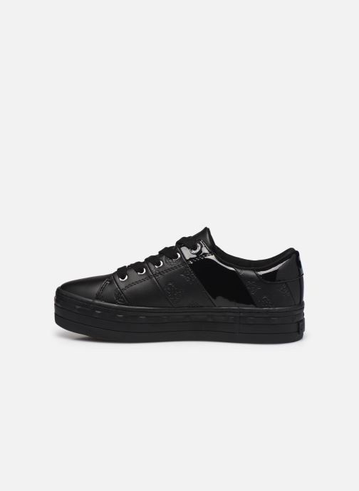 Sneakers Guess FL8BUS FAL12 Nero immagine frontale