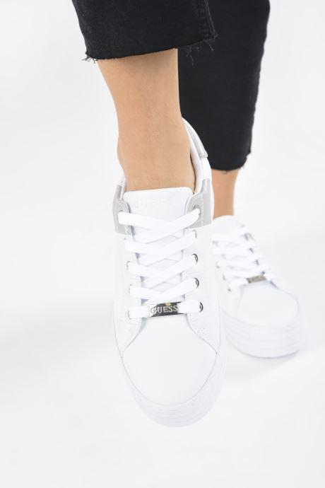 Sneakers Guess FL8BUS FAL12 Bianco immagine dal basso