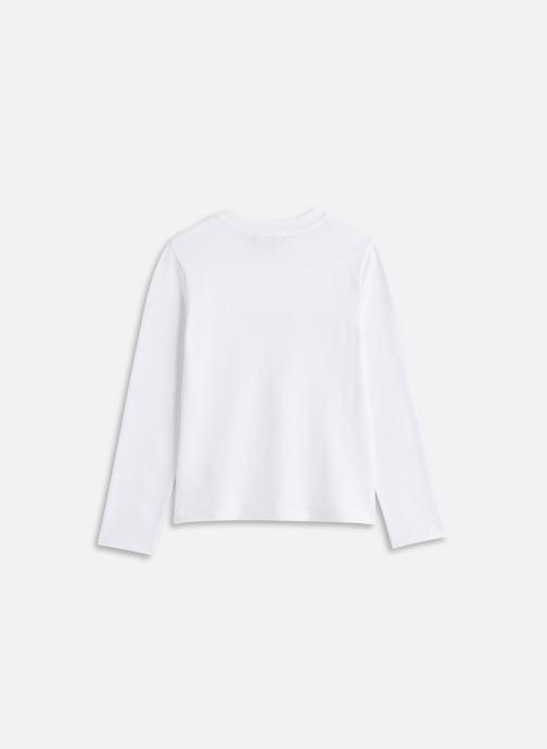 Vêtements DKNY D35Q78 Blanc vue bas / vue portée sac