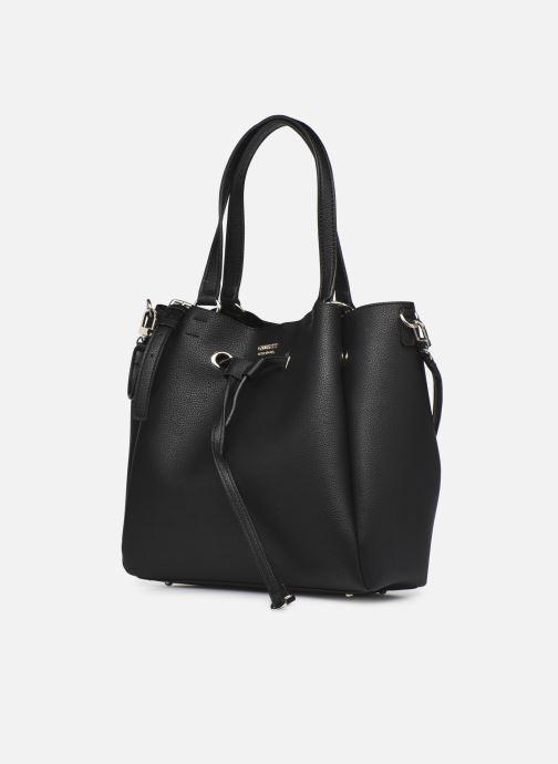 Handtaschen Guess DIGITAL DROWTRING BUCKET schwarz schuhe getragen