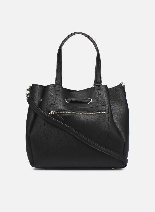 Handtaschen Guess DIGITAL DROWTRING BUCKET schwarz ansicht von vorne
