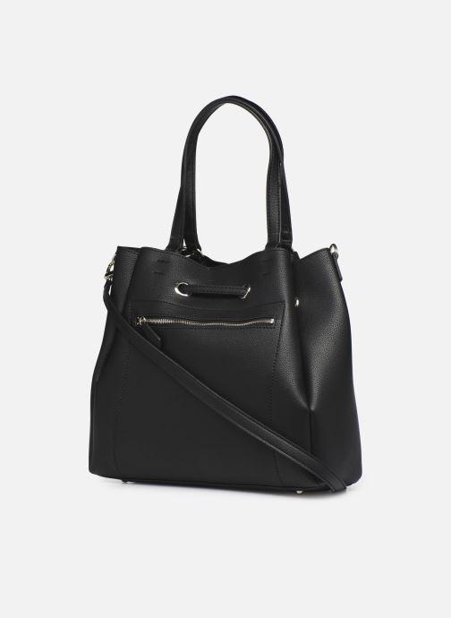 Handtaschen Guess DIGITAL DROWTRING BUCKET schwarz ansicht von rechts