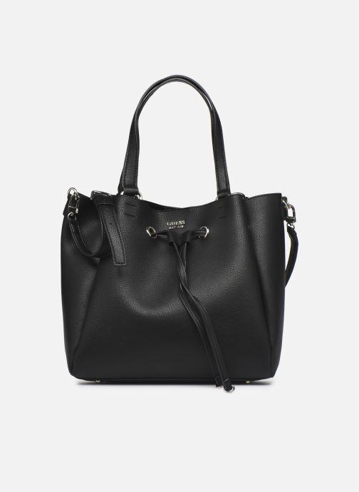 Handtaschen Guess DIGITAL DROWTRING BUCKET schwarz detaillierte ansicht/modell