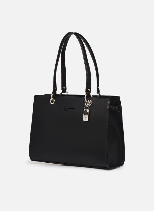 Handtaschen Guess ISLA ELITE CARRYALL schwarz schuhe getragen