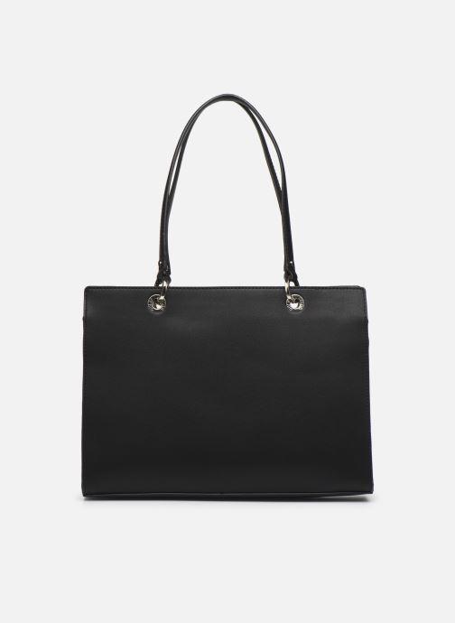 Handtaschen Guess ISLA ELITE CARRYALL schwarz ansicht von vorne