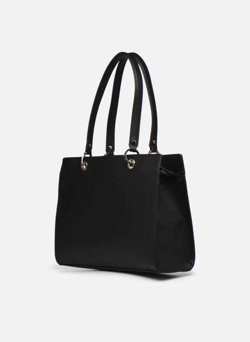 Handtaschen Guess ISLA ELITE CARRYALL schwarz ansicht von rechts