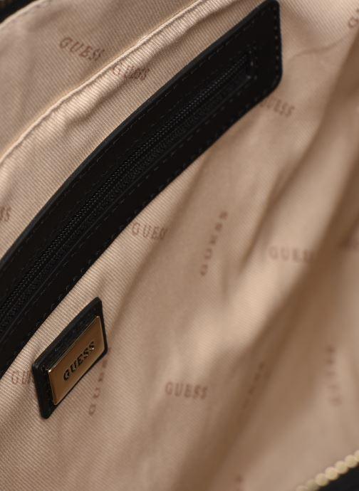 Handtaschen Guess ISLA ELITE CARRYALL schwarz ansicht von hinten
