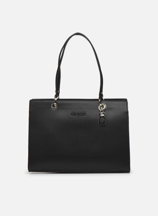 Handtaschen Guess ISLA ELITE CARRYALL schwarz detaillierte ansicht/modell